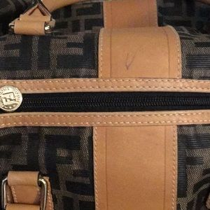 Fendi Bags - FENDI ZUCCA VINTAGE DOCTOR BAG SPEEDY PURSE, EXC!